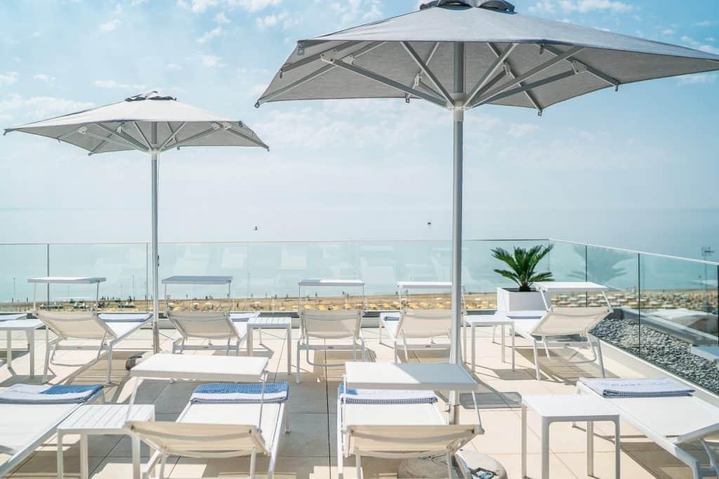 piscina a Lignano Sabbiadoro, fotografo alberghi