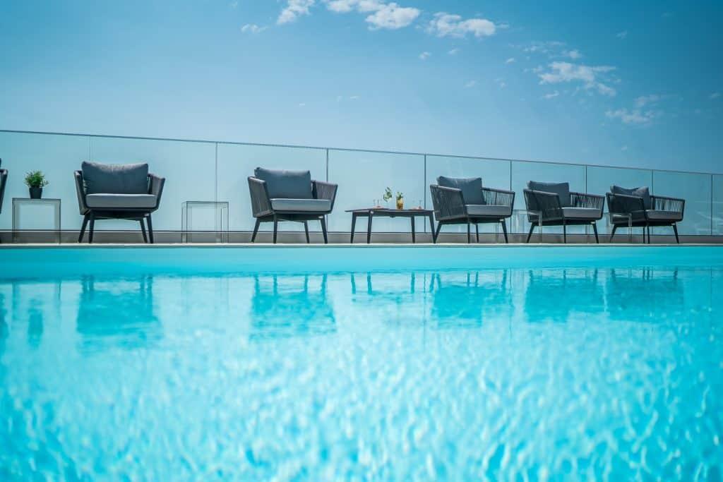 piscina a Lignano Sabbiadoro, fotografo hotel trieste