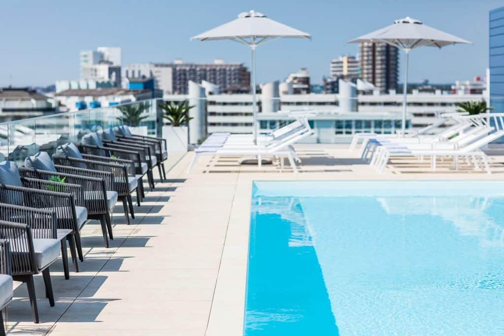 piscina a Lignano Sabbiadoro, fotografo hotel bibione
