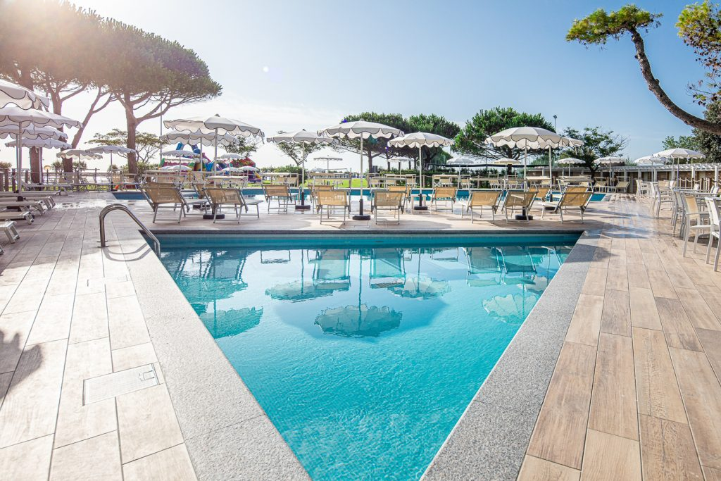 hotel con piscina a Caorle