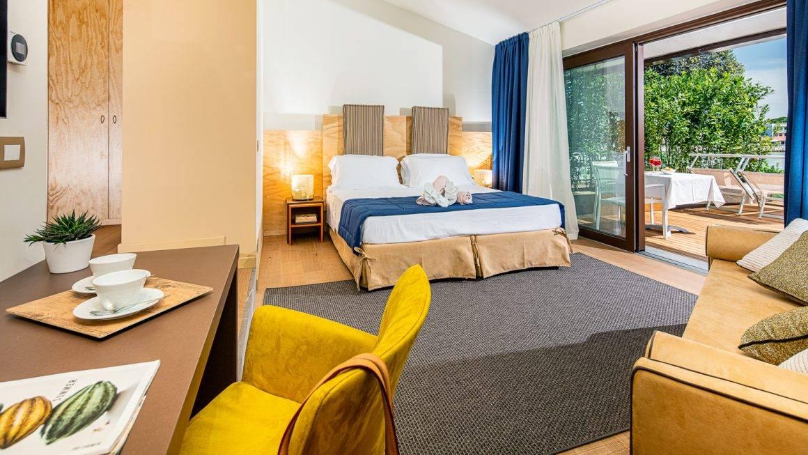 Servizi fotografici per camere di hotel e illuminazione innovativa