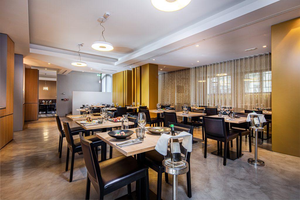 Sala ristorante in business hotel a Gradisca d'Isonzo sul collio friulano in provincia di Gorizia