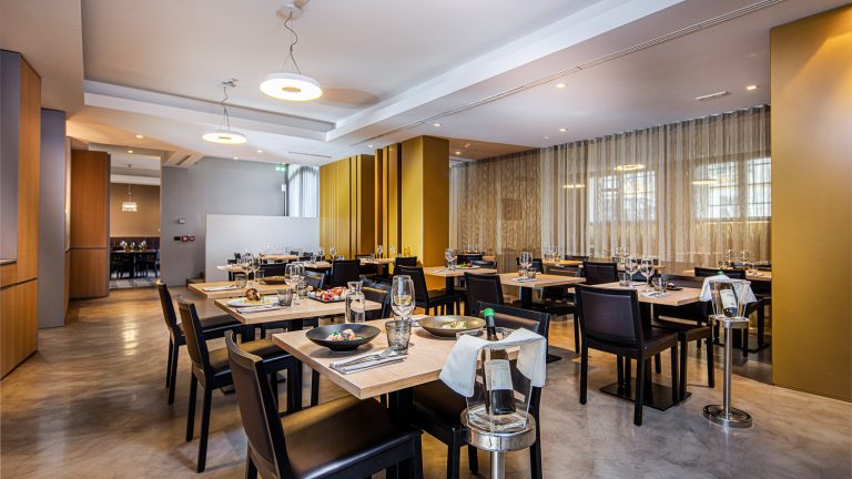 sala ristorante in business hotel adult only