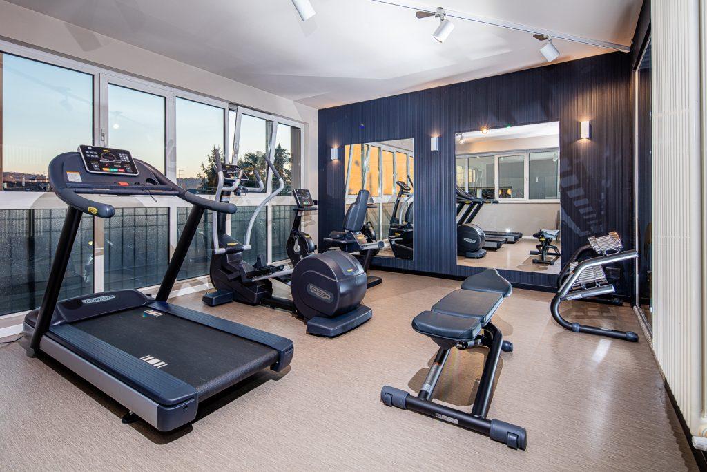 servizio fotografico in zona fitness in hotel adult only in friuli venezia giulia