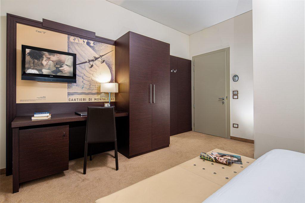 Servizio fotografico in business hotel a Trieste